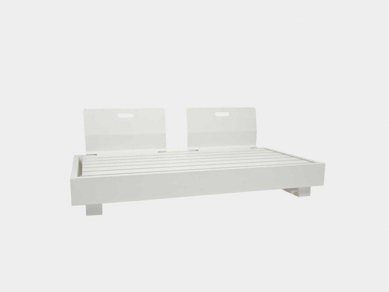 Lounge Bari Ruecken Aluminium