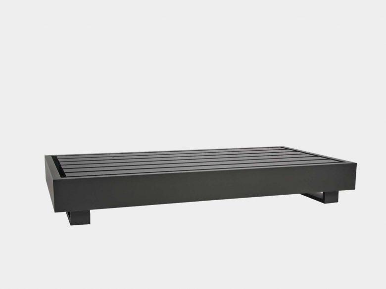 Lounge Bari Plattform Aluminium