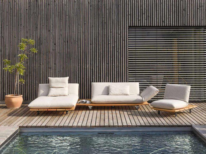 Lounge Outdoor Massivholz