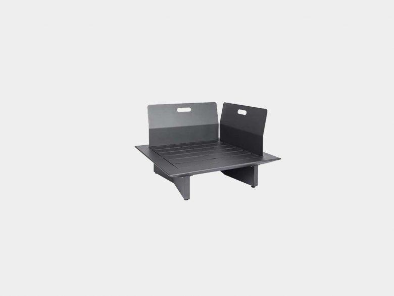 Lounge Arbon Aluminium Ecke