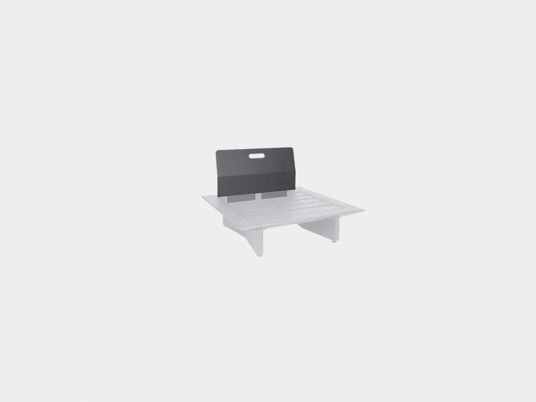 Lounge Arbon Rueckenlehne Aluminium