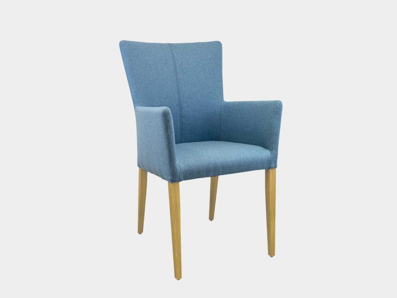 Armstuhl Holzfuss Sessel