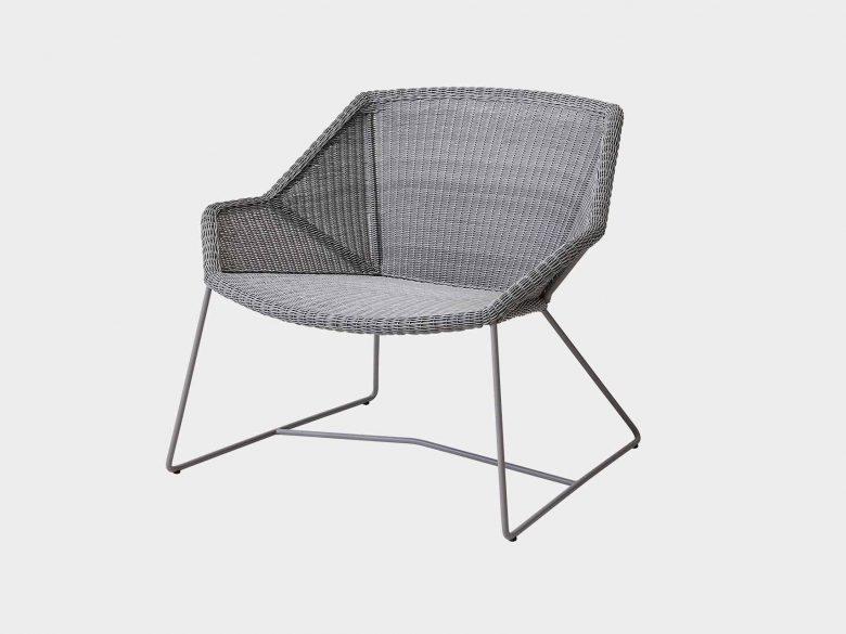 Lounge Sessel Aluminium