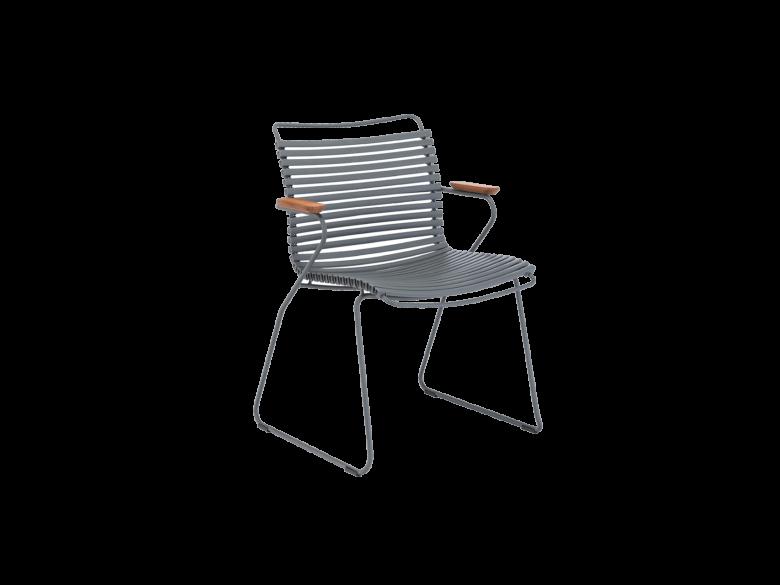 Click Dining Gartenstuhl Sessel Stahl pulverbeschichtet