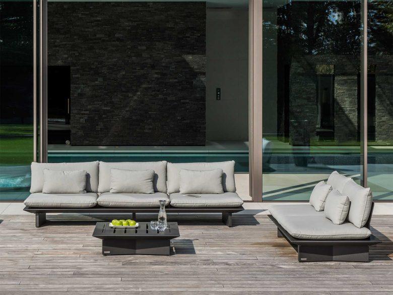 Lounge Garten Aluminium