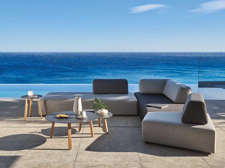 Outdoor Lounge Sofa Sunset wetterfest