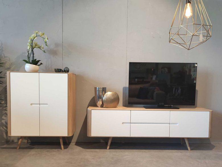 Schrankwand TV-Schrank Sideboard