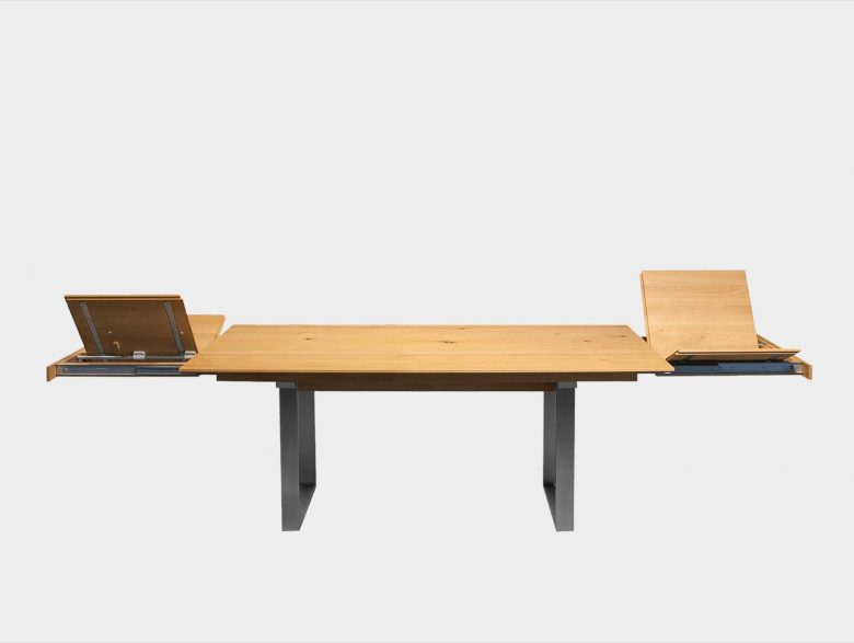 Auszugtisch Schublade Massivholz