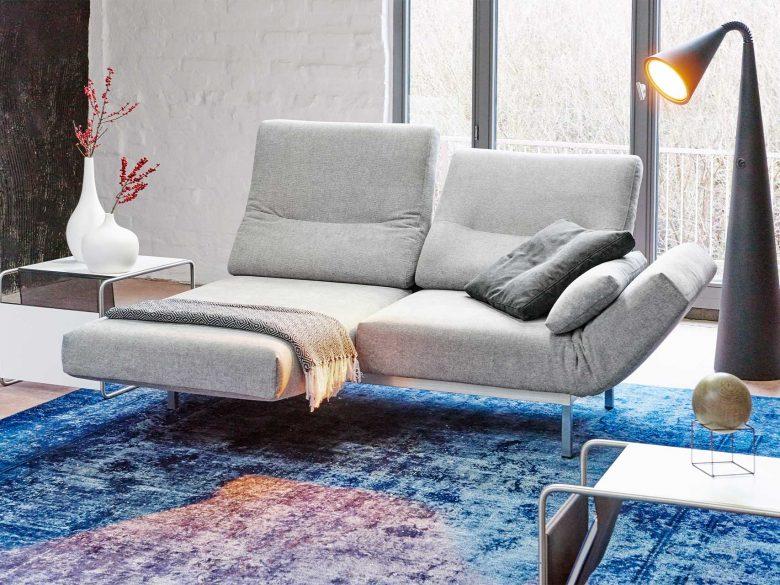 Sofa modular Polster massivholz