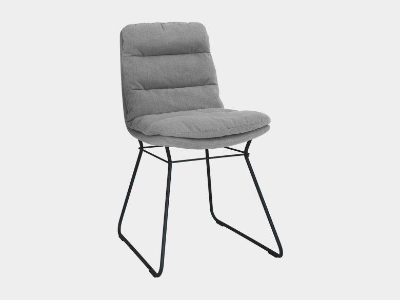Stuhl Polster Aluminium pulverbeschichtet