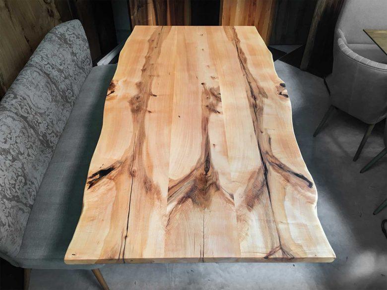 Unikattisch apfelbaum Massivholz