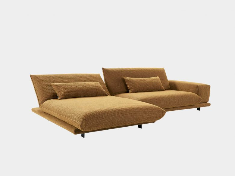 Couch Polstersofa Stoff