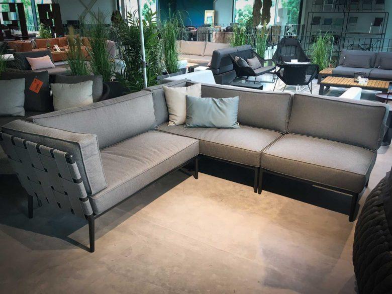 Conic 2-Sitzer Sofa-Modul, reduziert, Ausstellungsstück, Einzelstück, Abverkauf