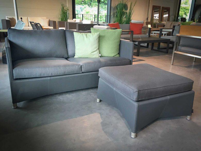 Cane Line Diamond 2-Sitzer Sofa reduziert, Ausstellungsstück, Einzelstück, Abverkauf